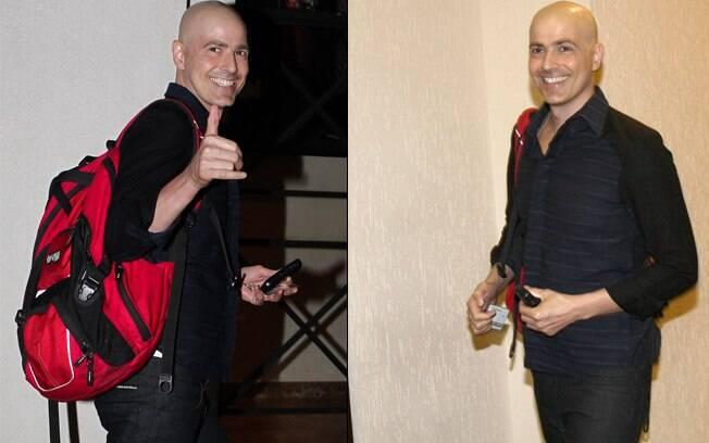 Reynaldo Gianecchini: de volta à cena após nove meses afastado
