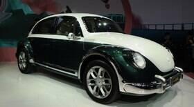 Marca chinesa mostra carro elétrico com jeito de Fusca