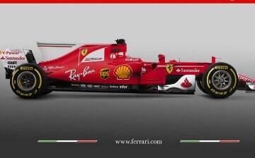 Ferrari lança novo carro para Fórmula 1 em alusão aos seus 70 anos de história