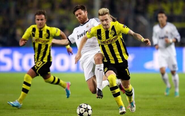 Em 2013, a final será alemã. O Borussia  Dortmund se classificou à decisão ao eliminar o  Real Madrid