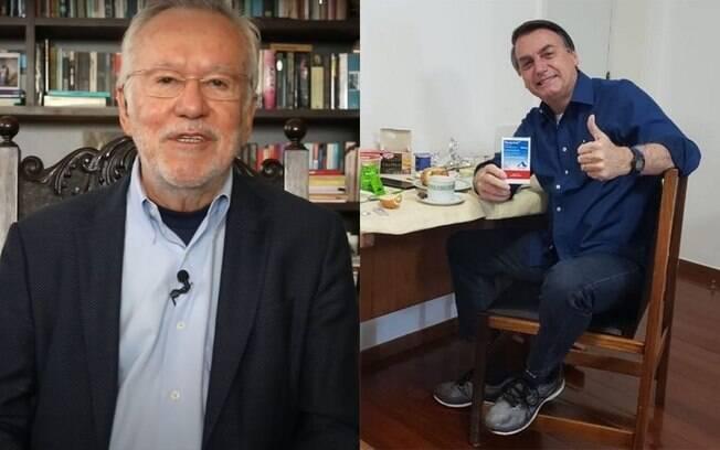 Alexandre Garcia e Bolsonaro