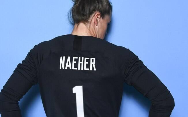 Alyssa Naeher foi a titular dos EUA e campeã do Mundial feminino