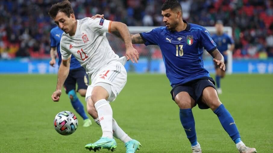 Itália x Espanha se enfrentaram na Eurocopa