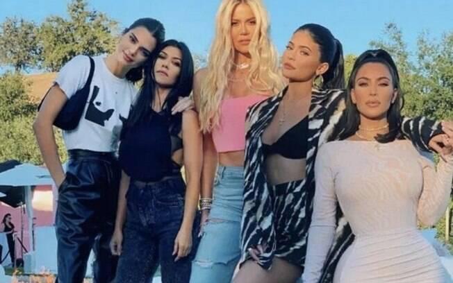 As irmãs Kardashian-Jenner