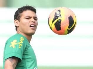 Thiago Silva vem recebendo cuidados especiais de Felipão visando a Copa das Confederações