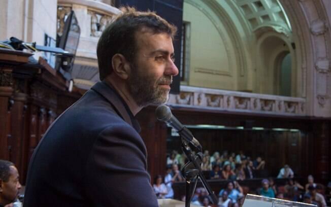 Marcelo Freixo anunciou candidatura à presidência da Câmara em oposição a Rodrigo Maia