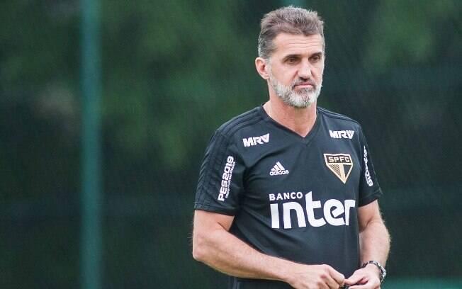 Vagner Mancini vai comandar o São Paulo até a chegada de Cuca