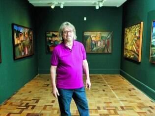 Além da pintura, o artista tem se dedicado a outra frente artística