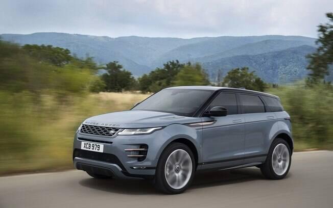 Range Rover Evoque da nova geração chegará antes  ao Brasil que o Land Rover Defender da linha 2020