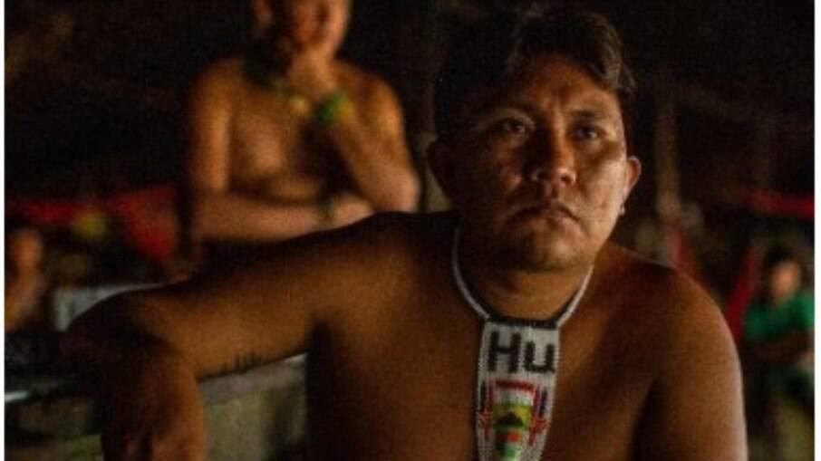 Líder indígena Dario Kopenawa Yanomami