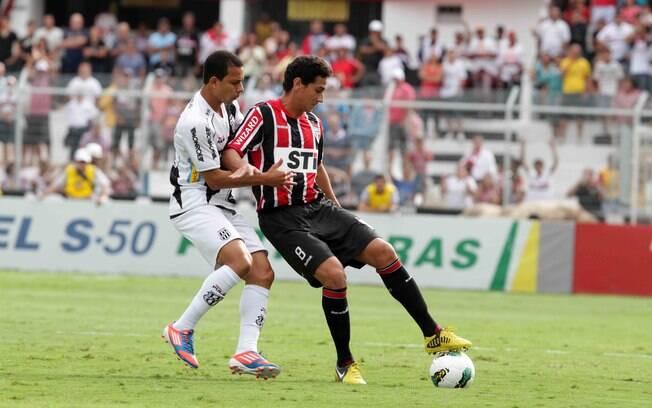 Ganso disputou a primeira partida como  titular do São Paulo
