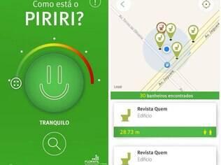 Piriri App informa localização de banheiros