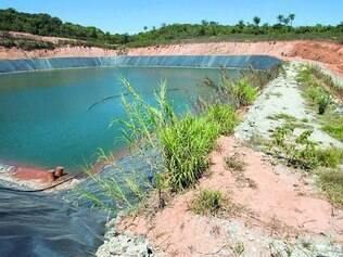 Na edição desta terça, O TEMPO mostrou barragem abandonada em Rio Acima