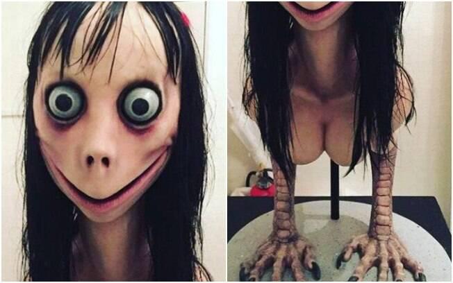 Acredita-se que a Boneca Momo apareça rapidamente em momentos aleatórios de vídeos como