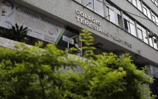 O Teresiano, na Gávea, suspendeu as atividades até o dia 23 após um aluno do 7º ano ser diagnosticado