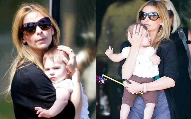 Sarah Michelle Gellar e a pequena Charlotte