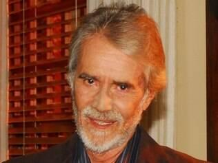 Adriano Reys em seu último trabalho na TV, em 2009, na novela