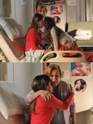 Júlia visita Ana no hospital e a tenista fica arrasada quando a menina vai embora sem chamá-la de mãe