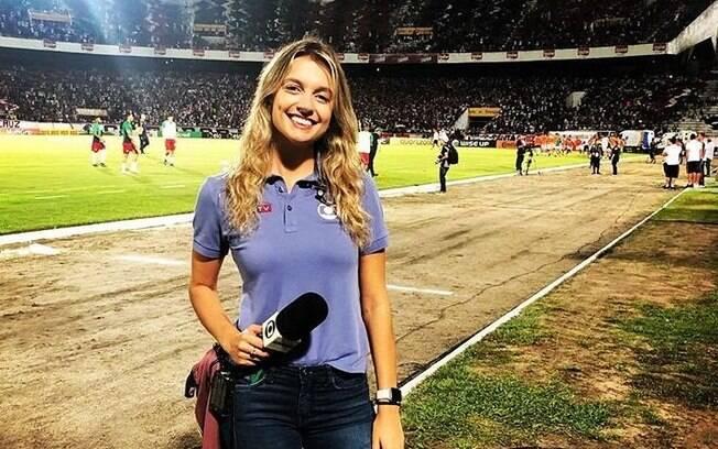 Ana Helena Goebel%2C repórter da TV Globo