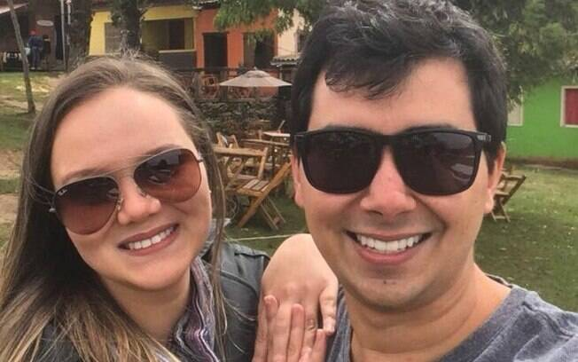 Letícia Amorim e Tiago Lasmar se conheceram na Universidade Federal de Ouro Preto, onde estão cursando a graduação