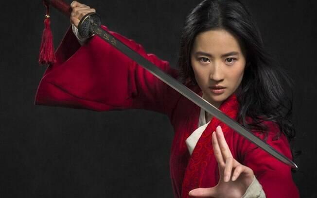 Disney divulga a primeira imagem da versão live-action do clássico Mulan