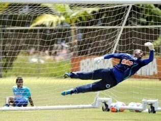 Aos 26 anos, Elisson assumiu o posto de reserva imediato de Fábio após a lesão do goleiro Rafael