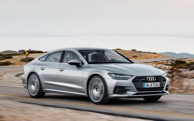 Audi A7 Sportback: nova geração chegará no Salão do Automóvel 2018. Inclui sistema semi-autônomo e outras novidades