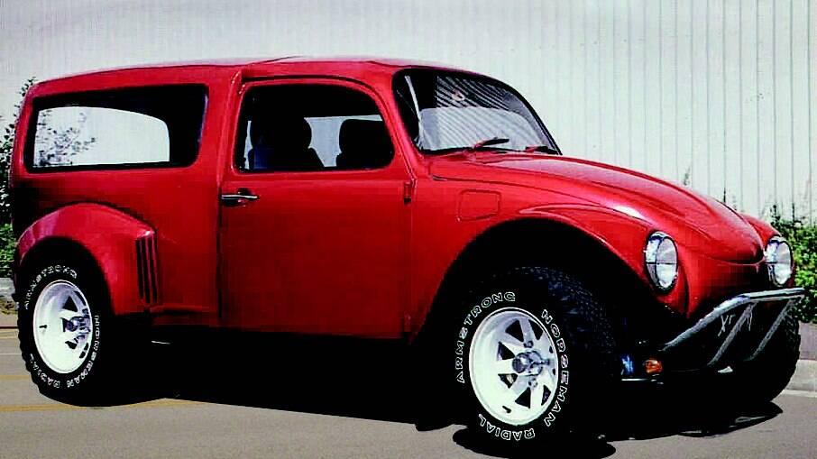 A especialidade da inglesa Unique Vehicle & Accessory (UVA) era transformar nos anos 80 os Fusca em peruas