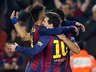 Barça conseguiu boa vantagem para o jogo de volta, que está marcado para o dia 4 de março