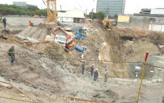 Desabamento das obras da linha 4-amarela do Metrô de São Paulo matou sete pessoas em 2007