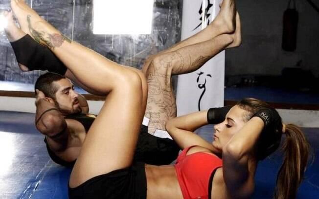Lucilene Caetano postou uma foto do tempo em que treiana com o ex-BBB Yuri no dia em que ele ficou solteiro