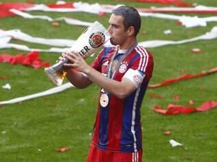Philipp Lahm no Bayern
