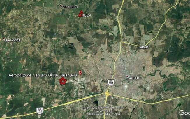 Tremores atingiram cidade que fica no agreste pernambucano.