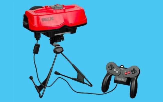 Jogos para Nintendo Virtual Boy não tinham uma boa interface e, em muitos casos, era melhor usar o console comum