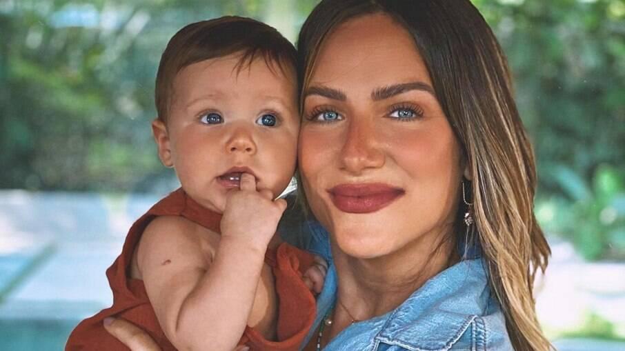 Giovanna Ewbank e seu caçula, Zyan