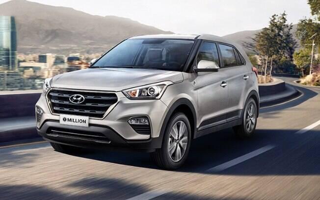 Hyundai Creta continua à caça da liderança do Honda HR-V entre os SUVs mais vendidos