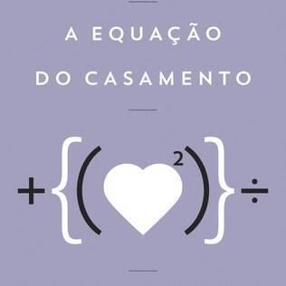 Capa do livro 'A Equação do Casamento, de Luiz Hanns