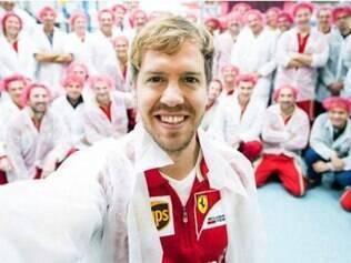 Vettel será o titular da escuderia em 2015, no lugar de Fernando Alonso que assinou com a McLaren
