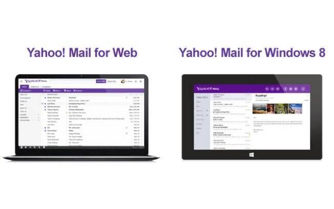 Novo Yahoo Mail ganhou novo design, mais simples e limpo, em todas as plataformas