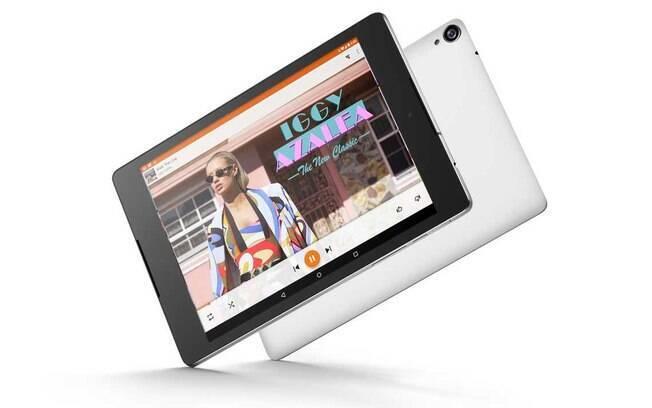 O Nexus 9 é o tablet feito em parceria com a HTC, tem tela de 8,9 polegadas e será vendido em três cores: preto, branco e bege