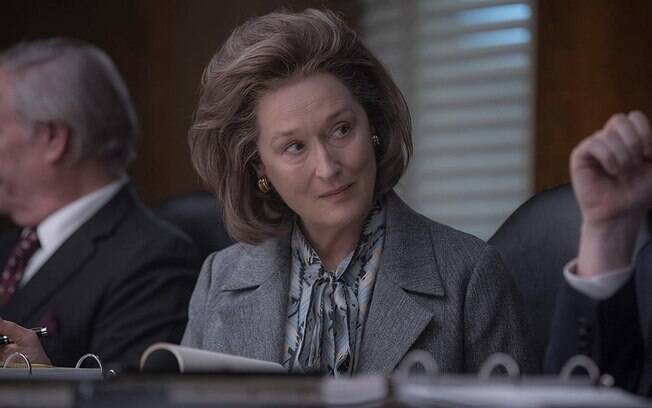 Meryl Streep volta a disputar o Oscar por seu papel em The Post