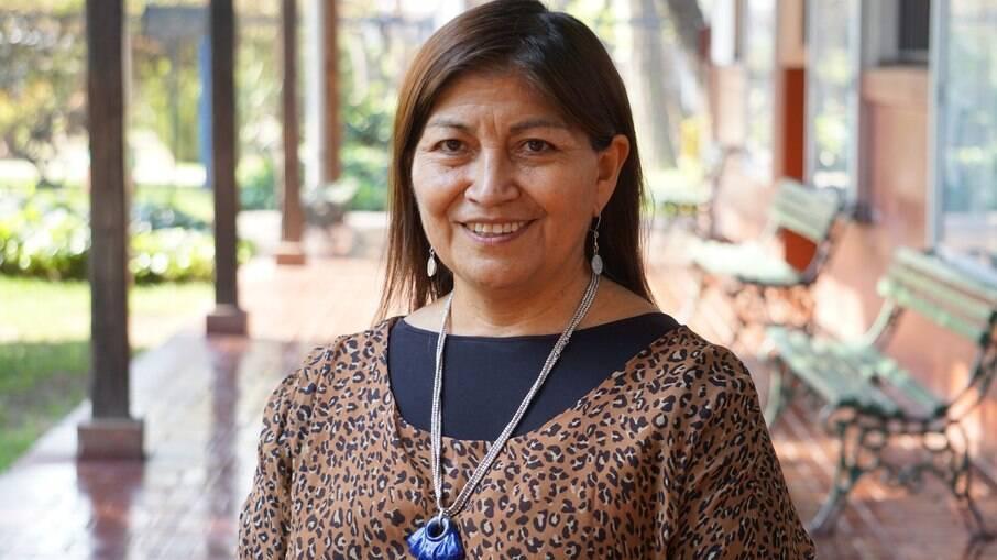 Elisa Loncon é professora e militante machupe