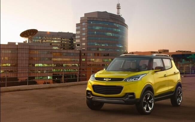 O protótipo Chevrolet Adria deverá servir de base para um dos SUVs que a GM vai lançar até 2022