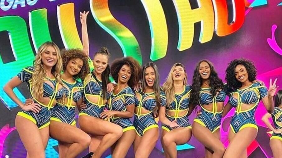 Bailarinas do 'Domingão do Faustão'