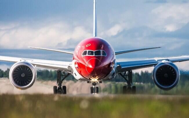 Os voos da Norwegian Air partem do Rio de Janeiro às 22h25, chegando às 13h35 ao Aeroporto de Gatwick, em Londres