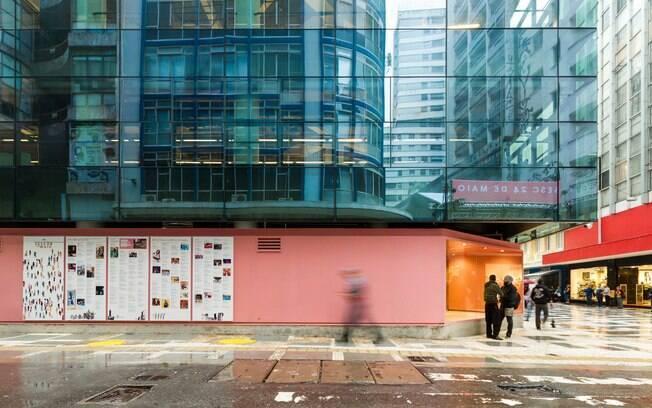Sesc 24 de Maio:  o centro da cidade agradece por esse belo edifício