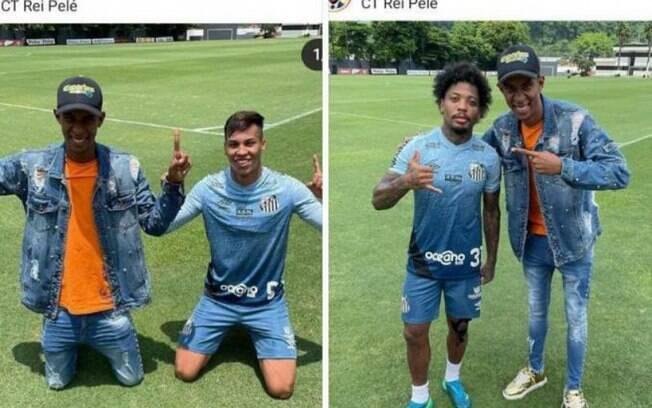Santos admite falha em presença de influenciador