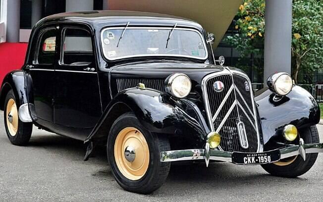 Citroën Traction Avant: primeiro carro do mundo com tração dianteira e carroceria do tipo monobloco