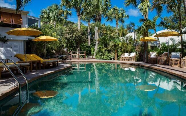 A paisagem do Hotel Villa Marie Saint Barth, São Bartolomeu proporciona um belo pano de fundo para fotos de viagem