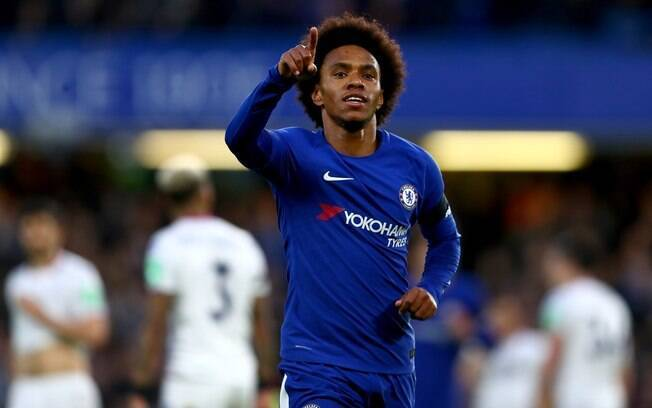 Willian no Chelsea